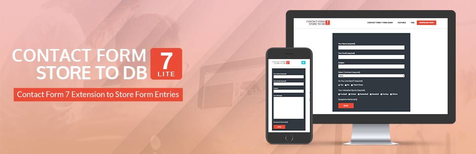 Contact Form 7 Store to DB Lite