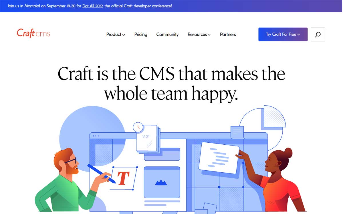 Craft CMS - WordPress Competitor