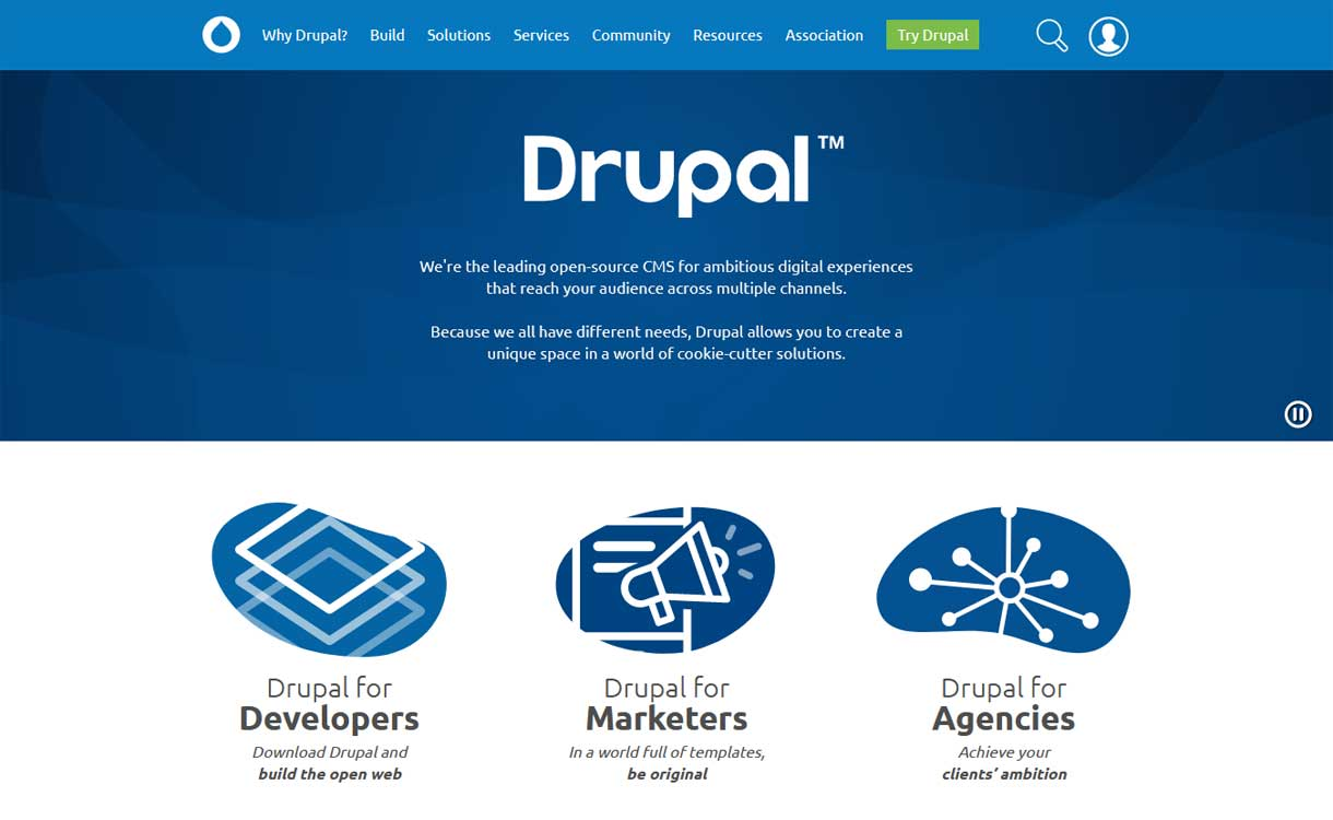 Drupal - WordPress Competitor