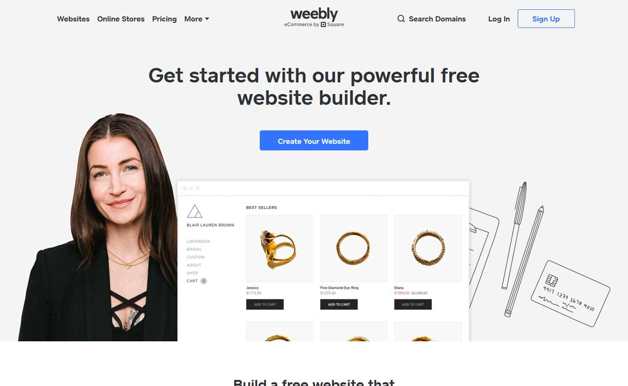 Weebly - WordPress Competitor
