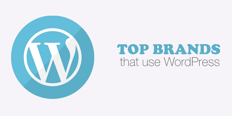 35 Top Brands that use WordPress