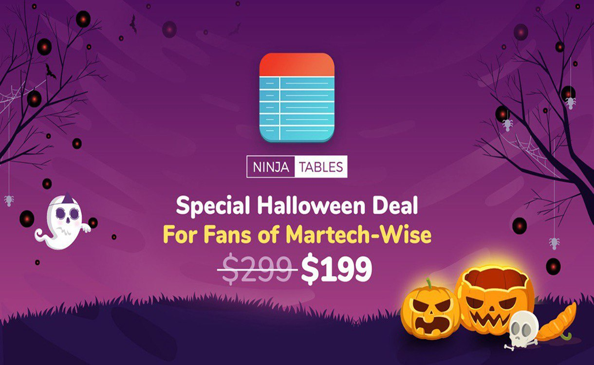 ninjatables-halloween-deals