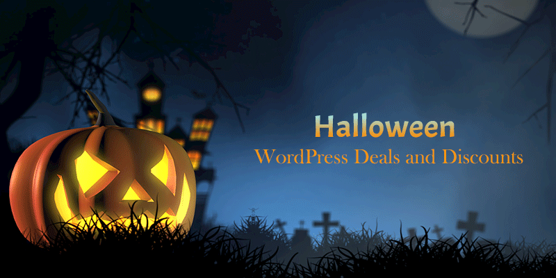 Best WordPress Deals and Discounts for Halloween 2019