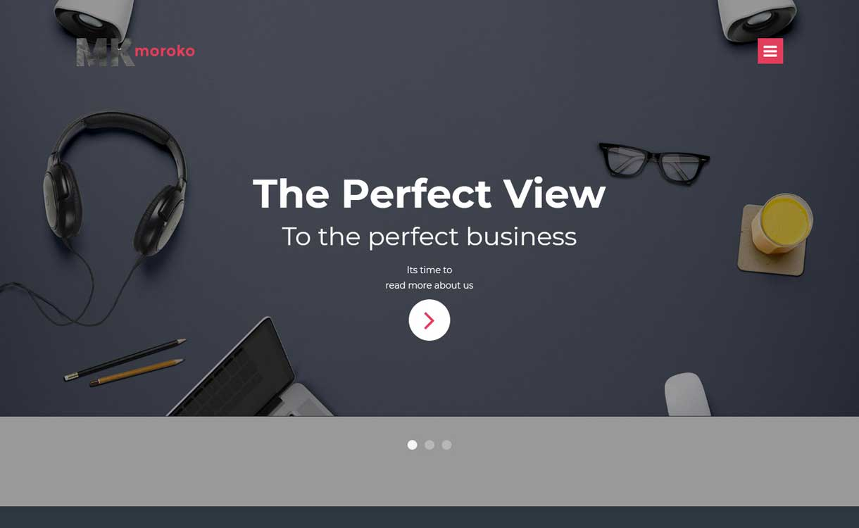 Moroko - Best WordPress Bootstrap Theme