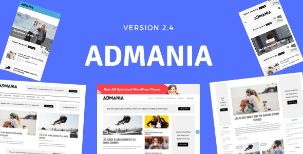 Admania - Best Advertising WordPress Theme