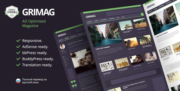 Grimag - Best Advertising WordPress Theme