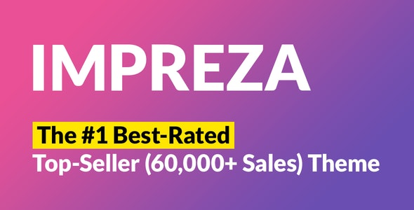 Impreza - Best Selling Themes on ThemeForest