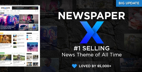 Newspaper - Best Selling Themes on ThemeForest