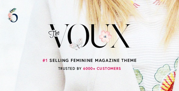 The Voux - Best Advertising WordPress Theme
