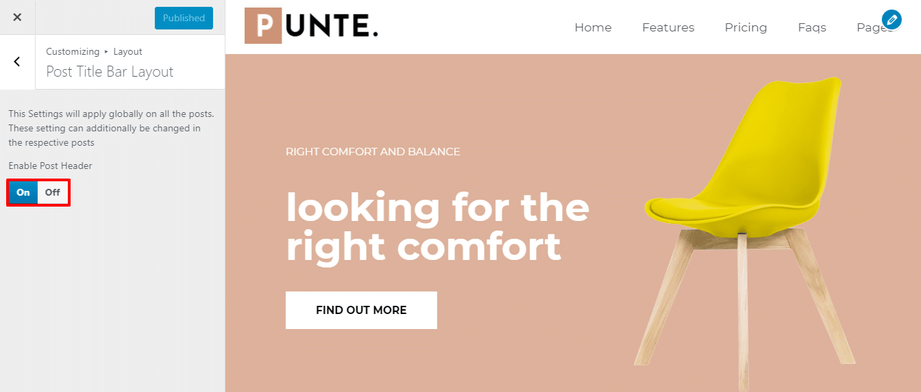 Single Product Launch-Sale WordPress Theme - Punte