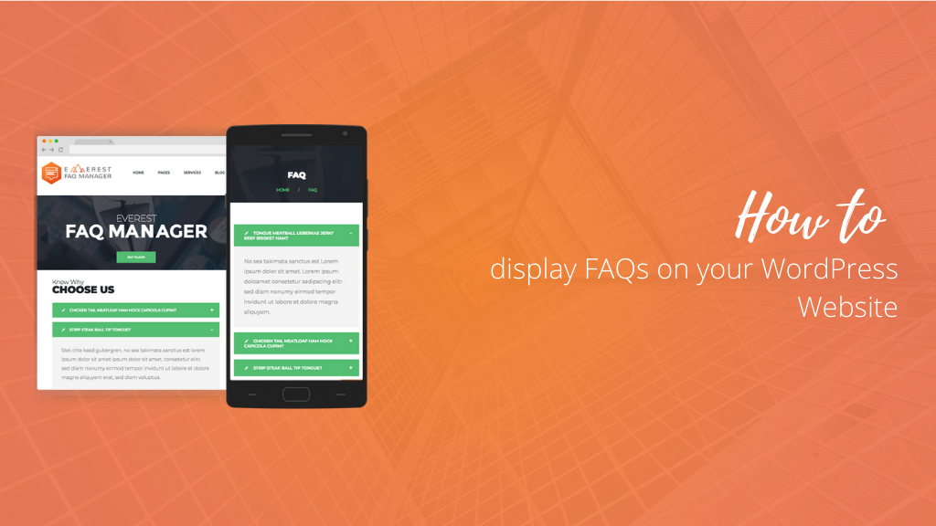 How to display FAQs section on your WordPress Website?