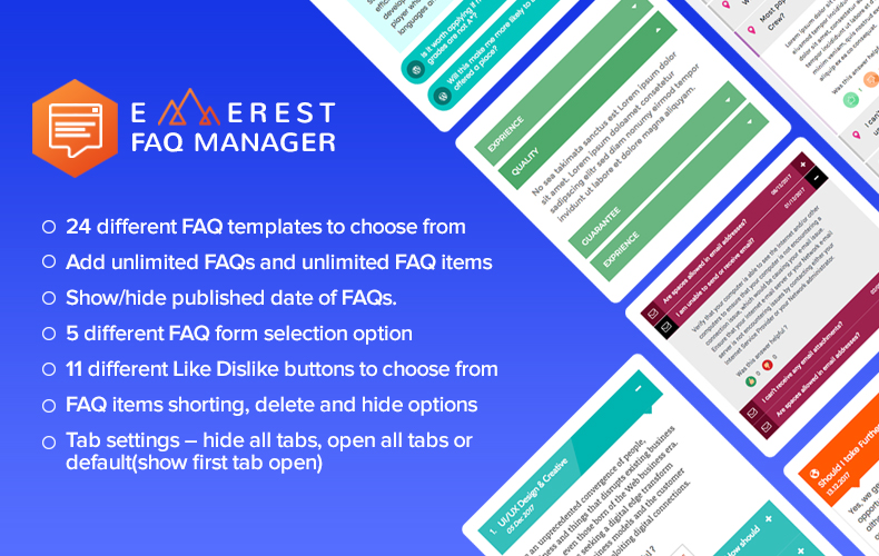 Everest FAQ Manager