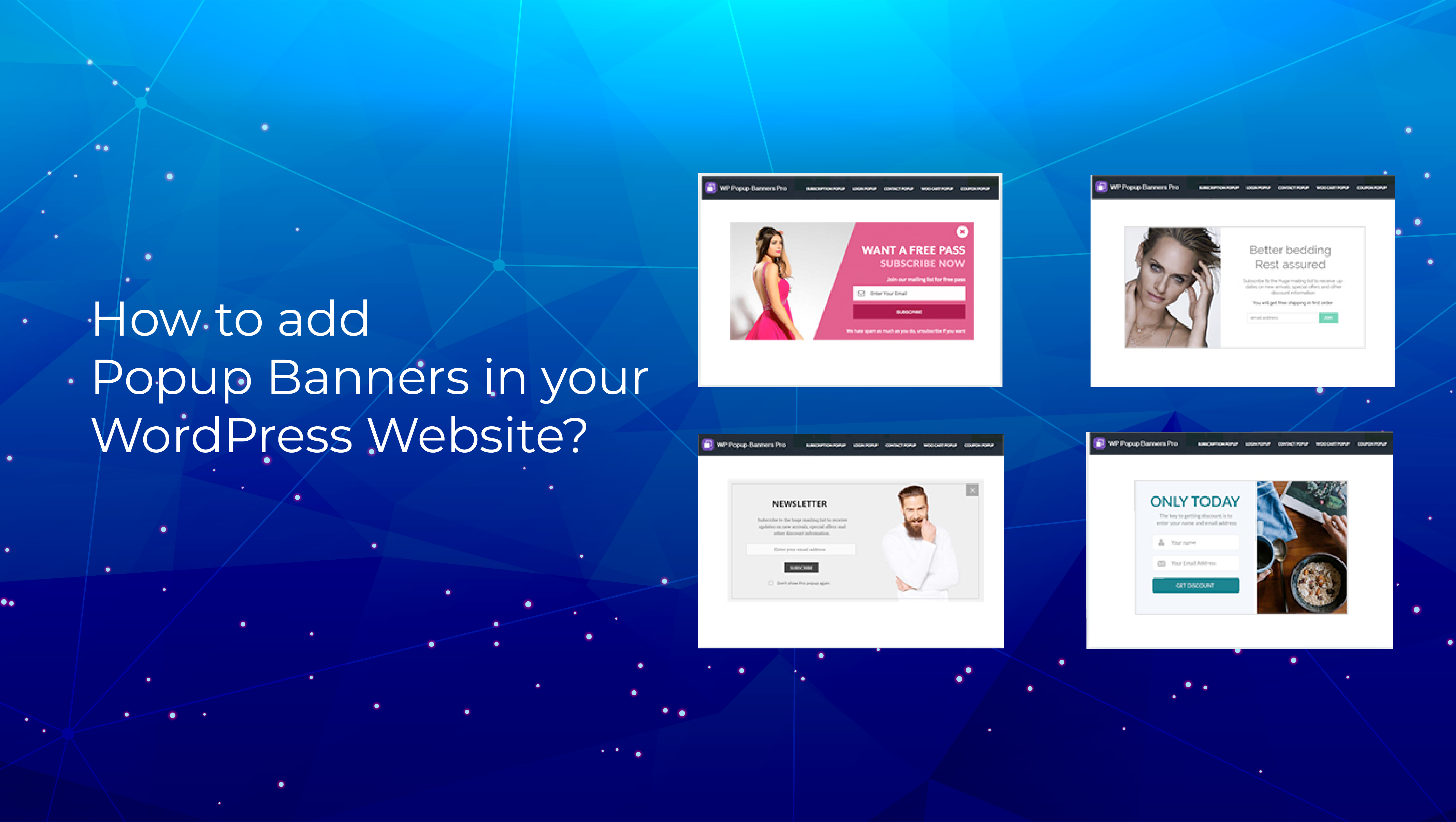 How to Add Popup Banners in your WordPress Website?