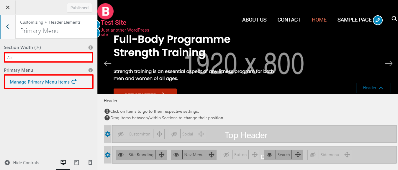 Make Gym and Fitness Website Using Bingle.