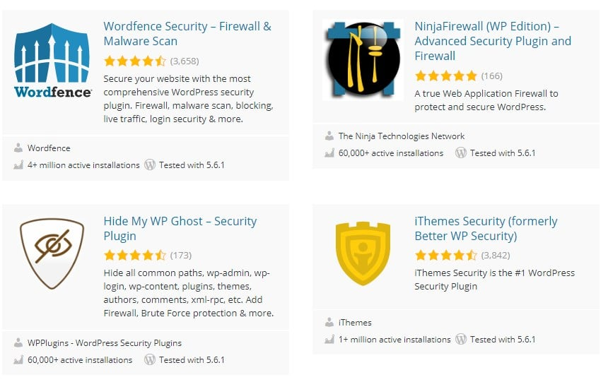 Ecommerce Security Plugins