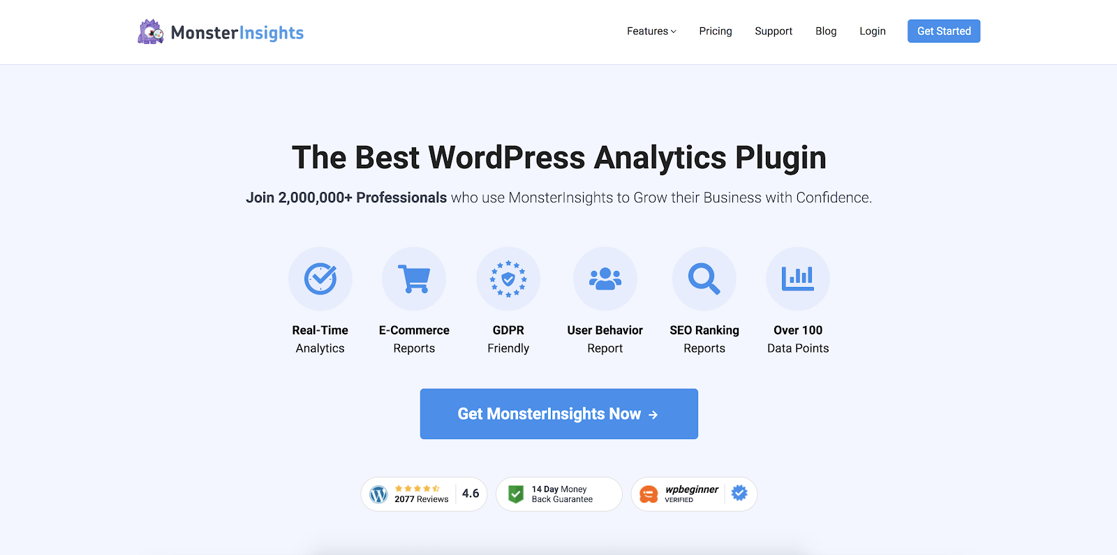 MonsterInsights - Best WordPress Plugins Every Affiliate Marketer Needs
