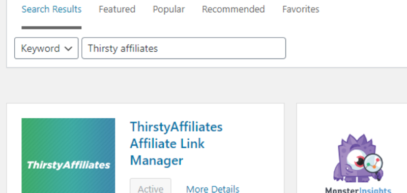 Thirsty Affiliates - Best WordPress Plugins Every Affiliate Marketer Needs