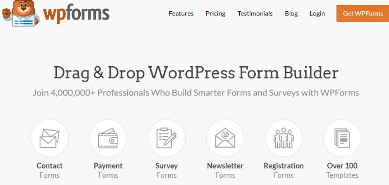 Wpforms - Best WordPress Plugins Every Affiliate Marketer Needs
